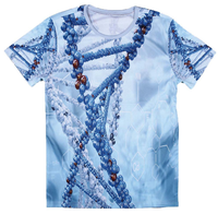 All over sublimation printed mens t-shirts in bulk