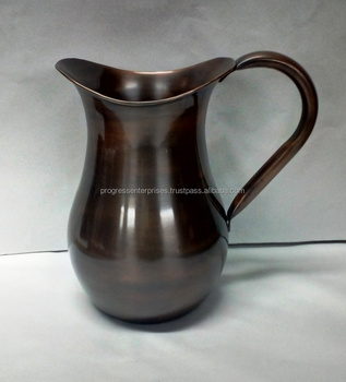 Hammered Solid Copper Pitcher for Wholesale in America and Canada