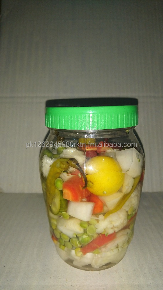 Traditional Fresh Mix Pickle (Mix Vegetable)