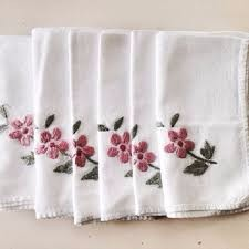 4sided hemmed napkin cotton