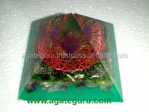 Four Side Reiki Orgone Healing Pyramid
