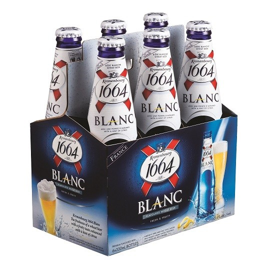 French kronenbourg 1664 Blanc Beer for sale .