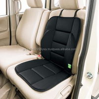 Body pressure balancing impact absorbent car seat cushion for comfortable drive