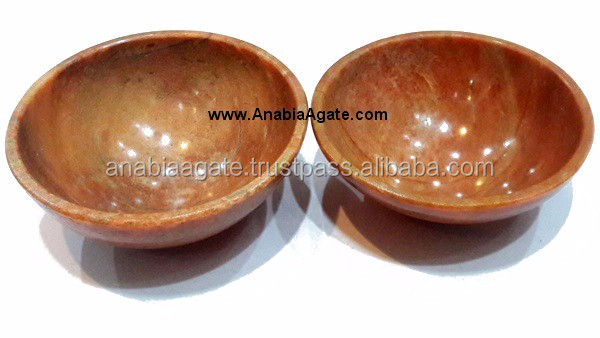 Seven Chakra Bowl Set Of Seven : Wholesale Agate Gemstone bowls