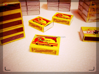 Household Safety Cardboard Wooden Match Boxes with Buyer Brands