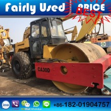 Used Dynapac vibration roller CA30D with cummins diesel water-cooling engine