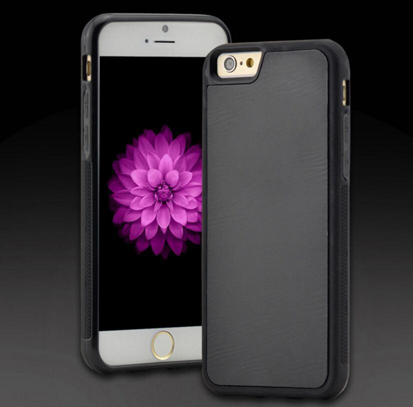 For iPhone5 6 6S 6 plus Antigravity TPU Frame Magical Anti gravity Nano Suction Cover Adsorbed car Hard Case Shell Cover