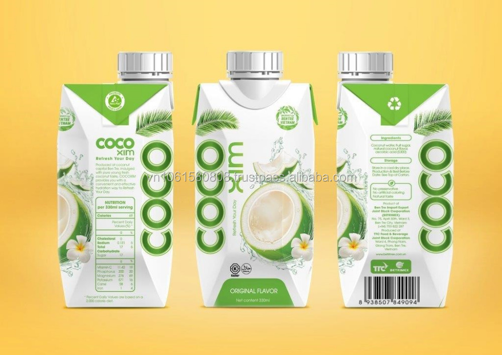 PRIVATE LABEL FOR FRESH AND PURE COCONUT WATER, ORGANIC PRODUCTS