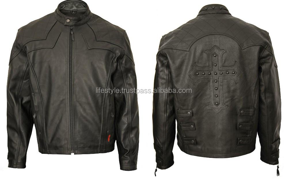 Best Motorcycle Jacket Brands Buffalo Leather Motorcycle Jacket Mens Blue Motorcycle Leather ...