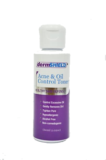 dermShield Acne and Oil Control Toner 60ml (2.02 oz.)