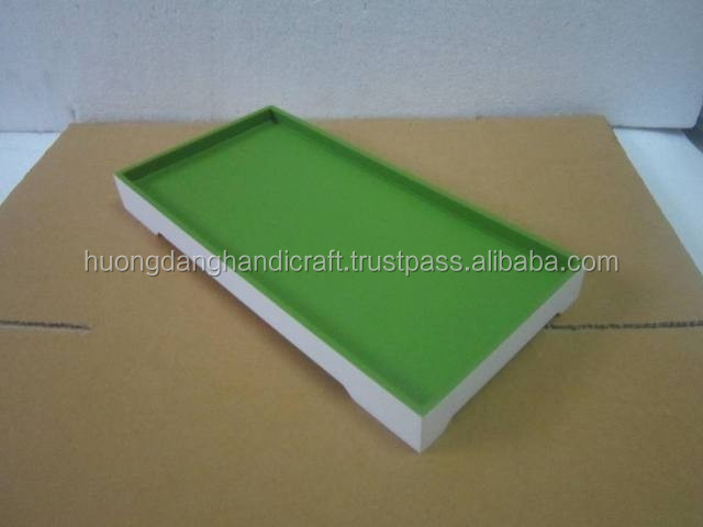 Simple but nice - Green MDF Trays - Made in Vietnam manufacturer 15 years