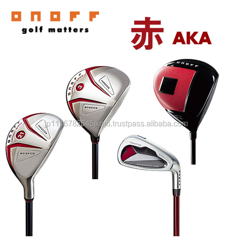 Different kinds of original golf clubs from Japanese golf club manufacturers