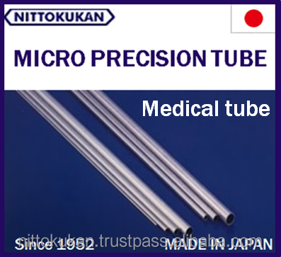 Durable and Precise Platinum tube Visible in X layer for medical and operation , small lot order available