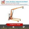 Widely Used Electric Hydarulic Portable Hydraulic Crane Manufacturer