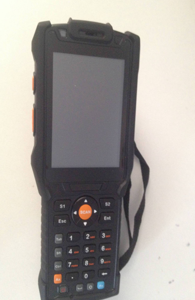 New quality 860Mhz-960Mhz portable cheap android mobile RFID UHF handheld Readers writers KL5502 for sale