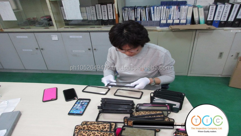 Pre-Shipment Inspection for Smartphone Cases - China