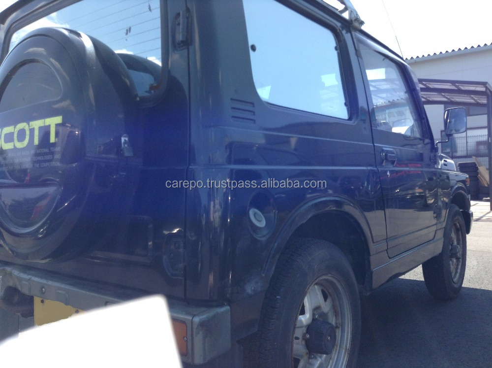 USED CARS WHOLESALE IN JAPAN FOR SUZUKI JIMNY V-JA11V 1993 AT F6A (HIGH QUALITY)