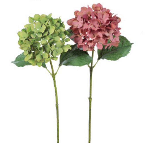 Wholesale Hydrangea Artificial Flower for home decoration and gift made in Japan