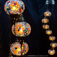 My Turkish Mosaic Glass Chandelier Lighting