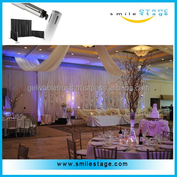 aluminum portable pipe drape photo booth