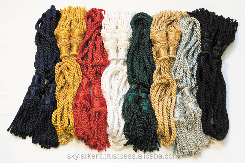 Bagpipes drone cords silk | whole sellers of drone cords | factory price scottish bagpipes drone cord