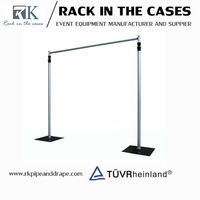 Manufacture supply event cheap backdrop stand