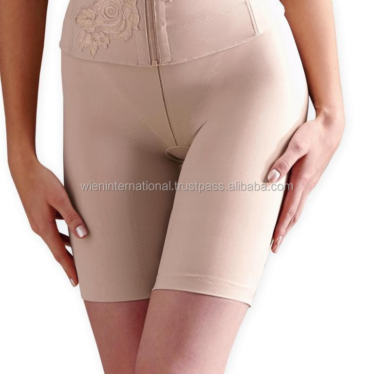 Extra firm control long leg panty girdle for plus size ladies with comfortable wearing
