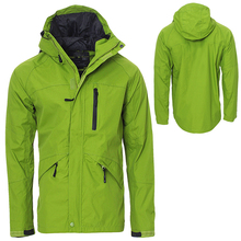 fully seam typed light weight waterproof 100%polyester mens outdoor Rain jacket