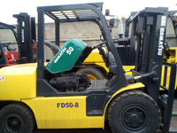 Cheap price 5ton forklift, 5ton komatsu forklift parts/price, located in shanghai!