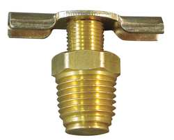 Drain Cock Brass MNPT 1/4 In