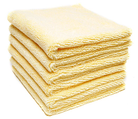 Edgless Microfiber Polishing Cloth - 6 Pack