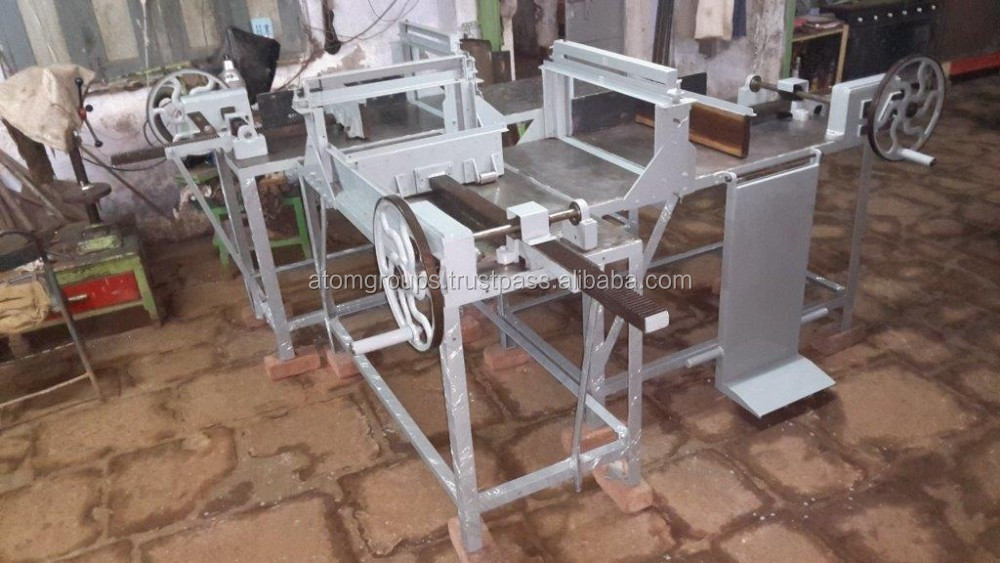 Three Table soap block cutting machine No. E - 4