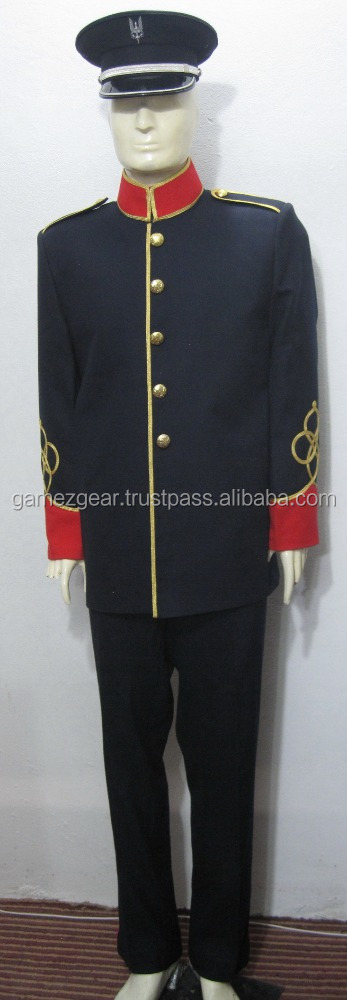 MARCHING BAND UNIFORM TUNIC / Musical Dress and Ceremonial Parade Clothing