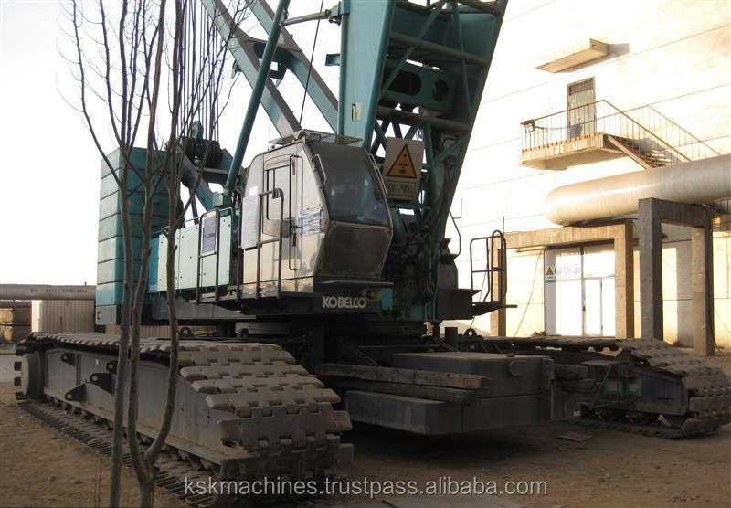 used japan produced kobelco 250 ton crawler crane CKE2500-2 for sale in Shanghai