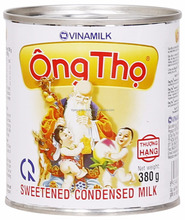 VINAMILK ONG THO WHITE - YELLOW LABEL SWEETENED CONDENSED MILK 380G