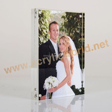 paper card photo picture frame /acrylic block /transparent picture frame