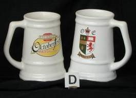 Ceramic Beer Mugs/Tankards
