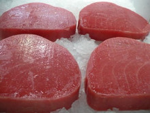 Frozen Yellow Fin Tuna Steak
