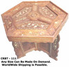 carving wooden dressing table