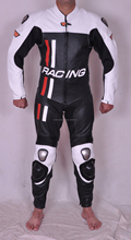 Custom Tailor Made One Piece Motorbike Leather Suits