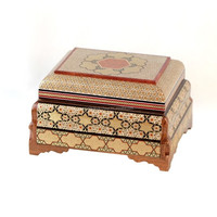 Khatam Jewelry Box