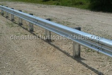 Guard Rail Highway Crash Barrier Manufacturer UAE - DANA STEEL