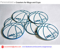Personalized Coasters for Mugs & Glass Cups or Tumblers, Souvenirs & Corporate Giveaways