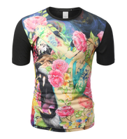 sublimated t shirts - High quality 3D sublimated tshirts manufacturer