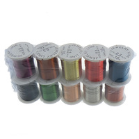 0.3mm mixed colors with plastic spool Copper Wire