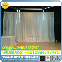 adjustable pipe and draping pole, Pipe and drape wedding backdrop, pipe and drape kits for events,wedding, trade shows