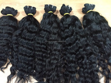 100% natural human hair extension curly virgin hair remy unprocessed Vietnam hair