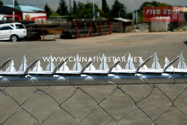 Five Star Factory supply fence and wall security spikes