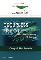 Sumabe Odourless Fish Oil 1000mg