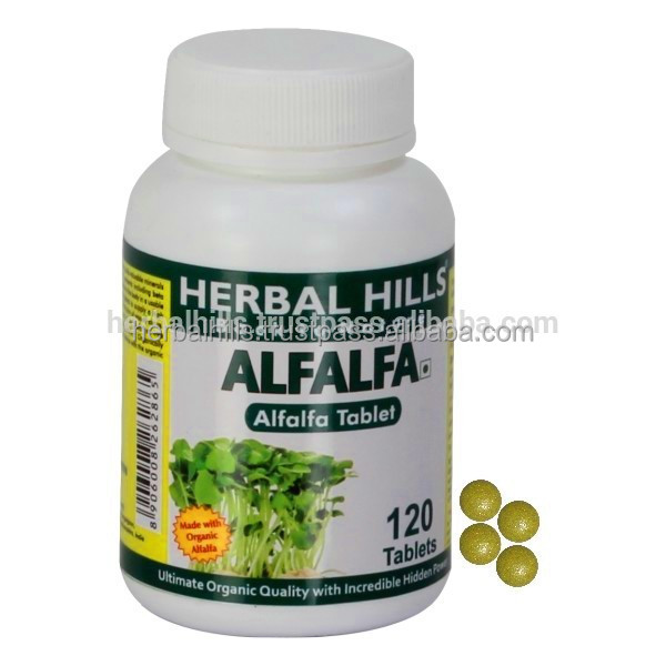 Nutritious Alfalfa tablet/Medicago sativa for healthy Joint Pain